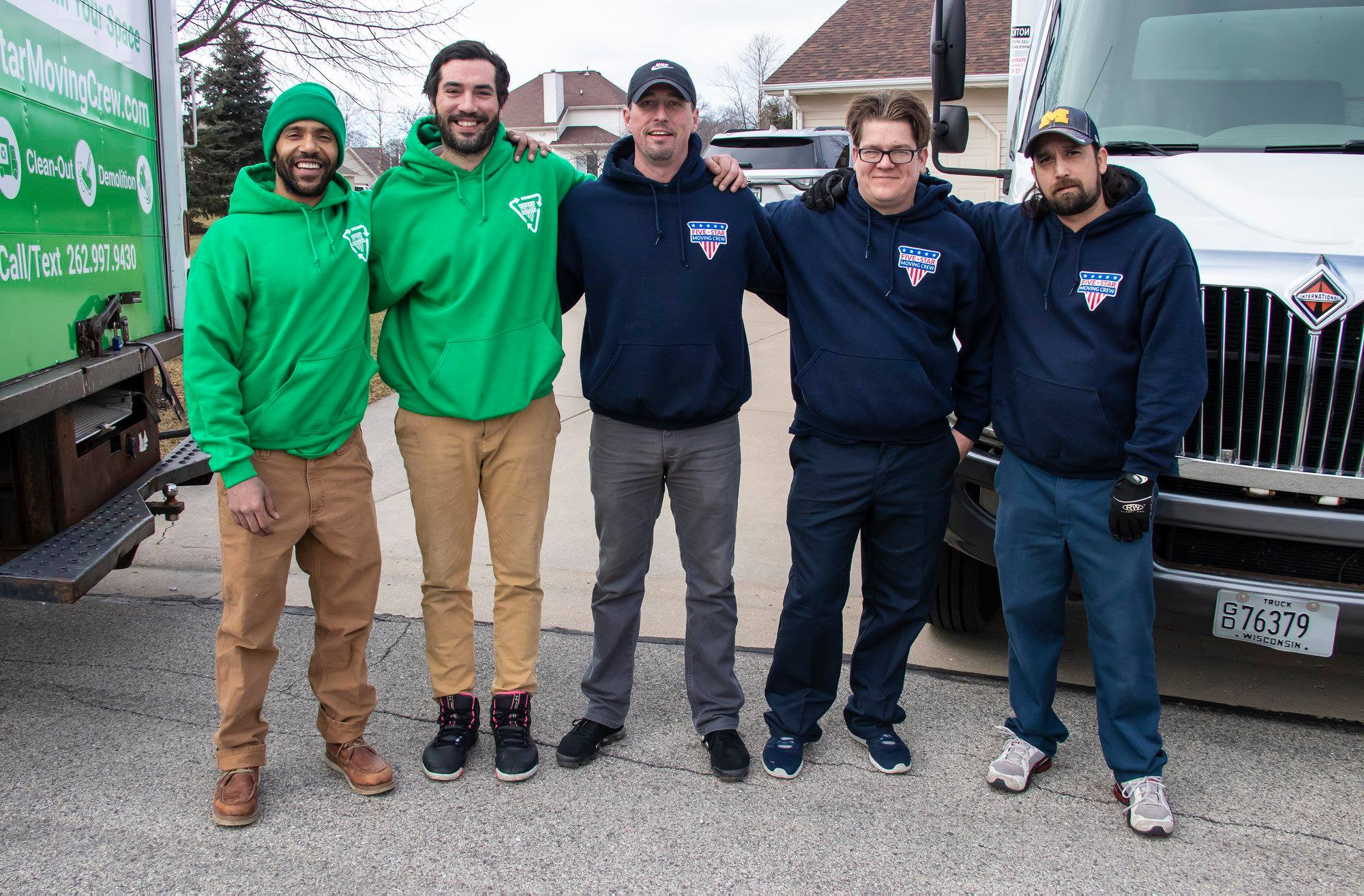 the green team, kenosha junk removal, junk pickup in kenosha
